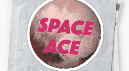 Redbubble Space Ace Sticker
