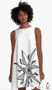 Redbubble Seeing Compass Dress